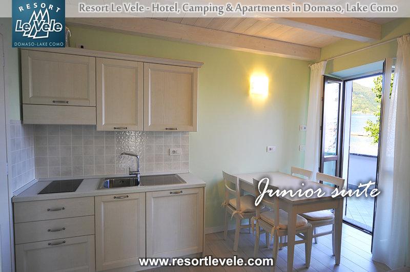 Appartementen Villa Carolina huisje Domaso Comomeer