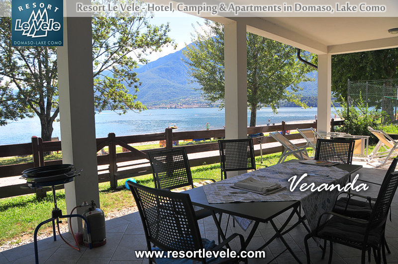 Appartements Villa Carolina droit sur le lac Domaso Lac de Côme