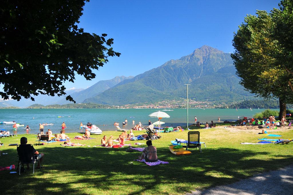 Camping Solarium Lago di Como - Camping bungalows e ...