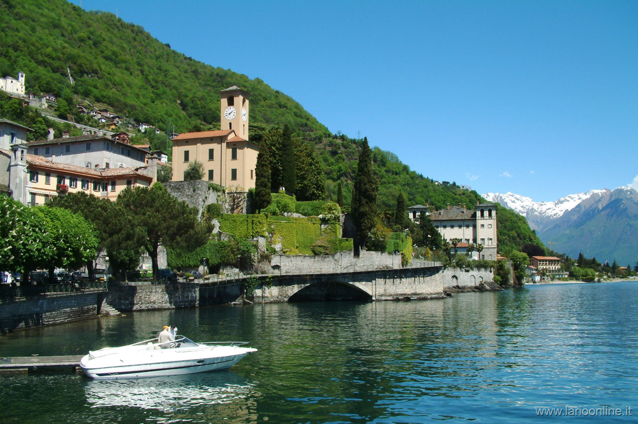 Gravedona lake Como