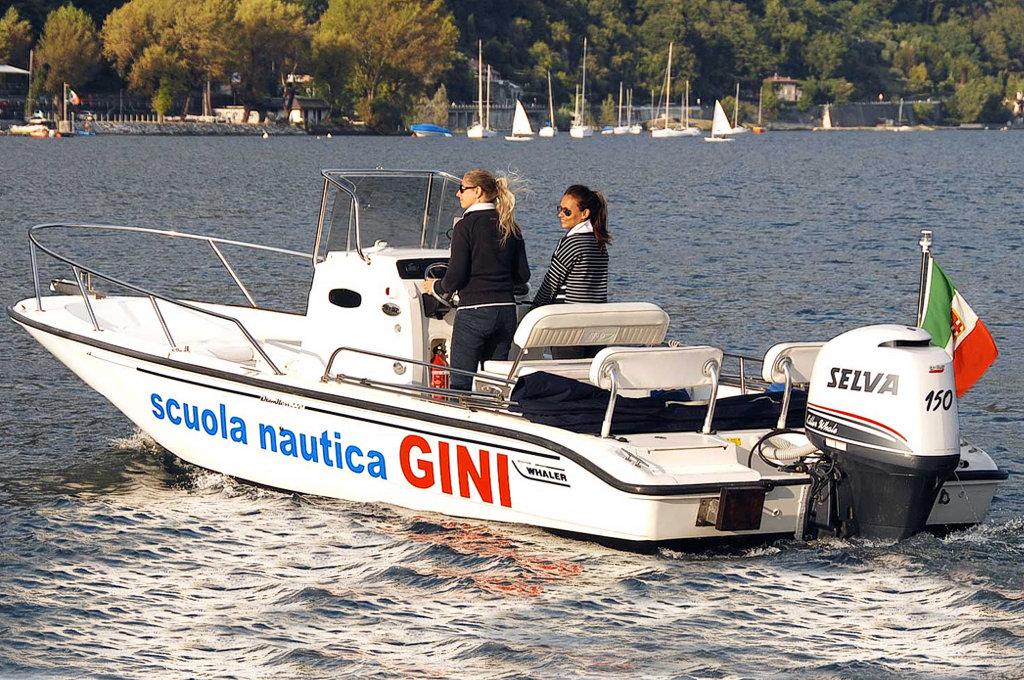 Patenti nautiche lago di Como