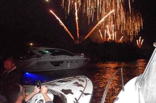vuurwerk Comacina eilanden comomeer