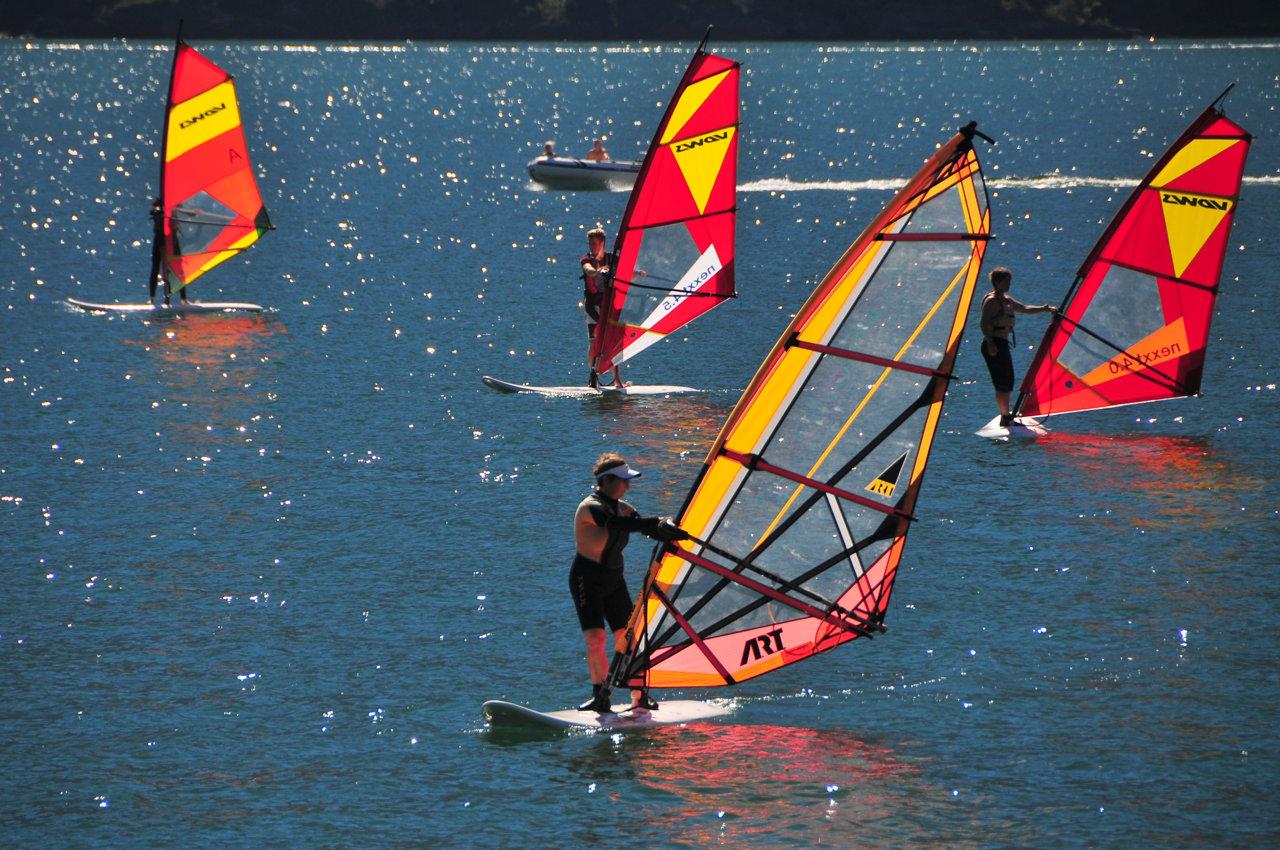 windsurf domaso comer see